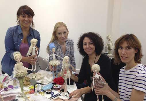 Семинар Ирины Горюновой по созданию куклы PAPER CLAY