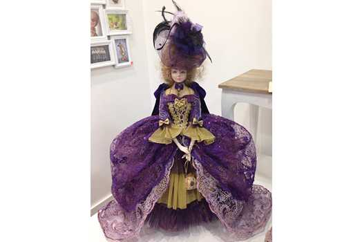 Куклы пластмассовые PAPERCLAY