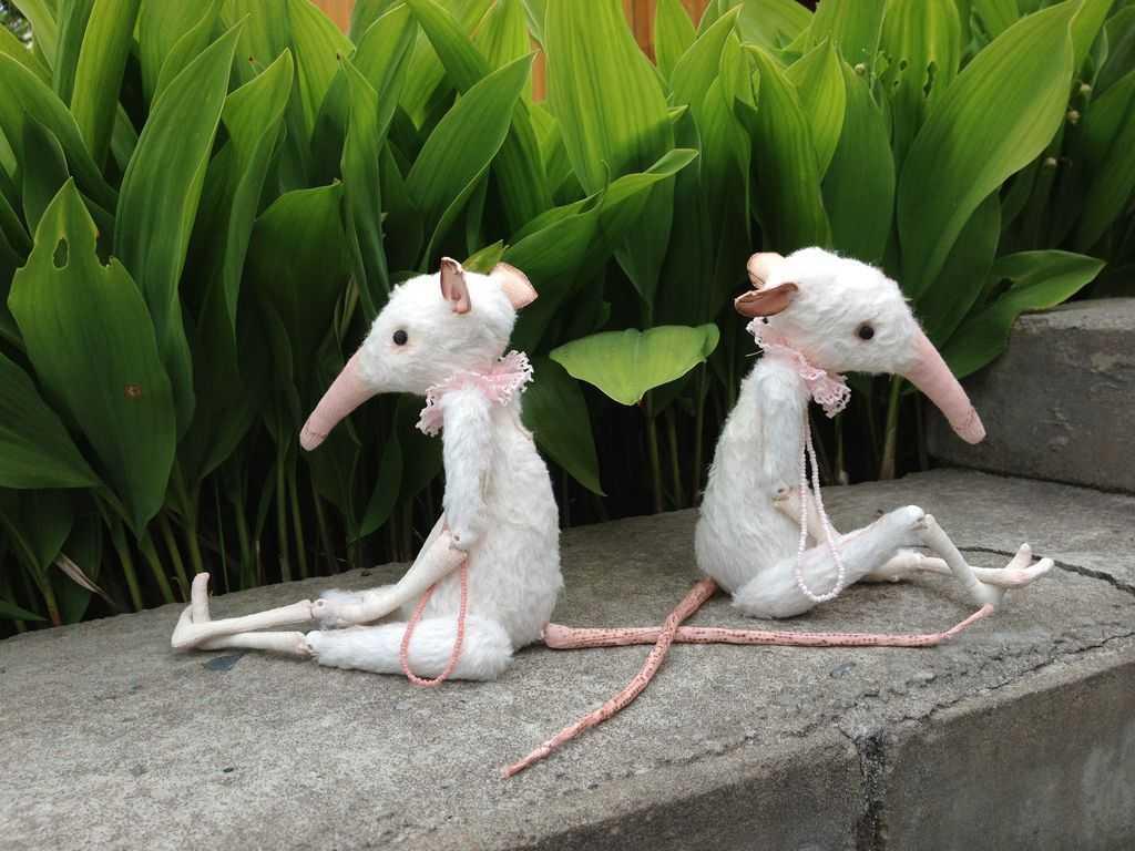 Берг, Юлия Берг, кукольник, крысы, шарнирная кукла