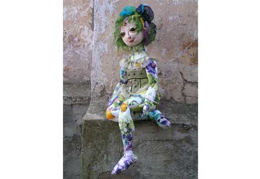 Базовый курс - Текстильная шарнирная кукла. Светлана Ветрова.
