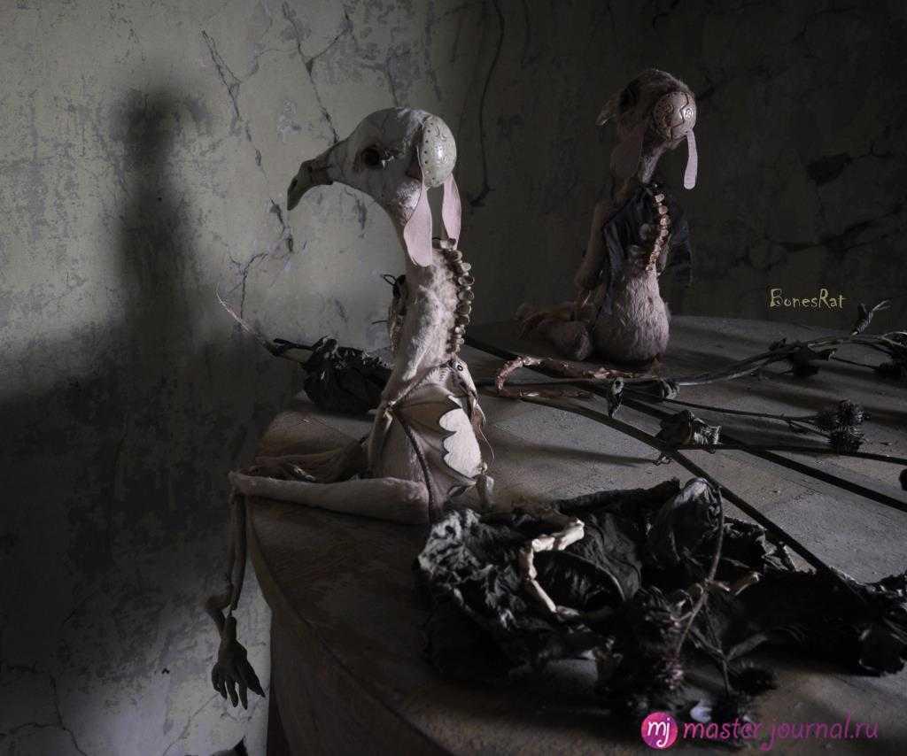 Хэллоуинские крысы от Юлии Берг.