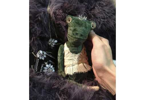 Авторский мастер-класс Анны Цымбал по созданию Лягушки в Эстонском Доме авторской куклы