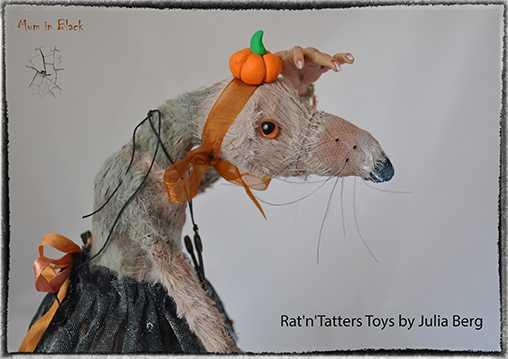 Крыся Мать Mum-in-Black Хэллоуин 2014 от Julia Berg