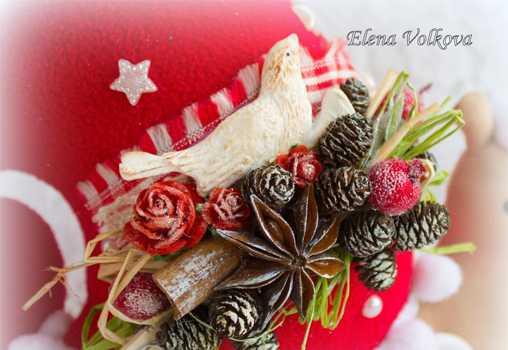 Новинки, Елены Волковой , игрушки, ручная работа, для мастеров, подарки, новый год, НГ, 2015, год овцы, снеговик, пример работ, что подарить на новый год