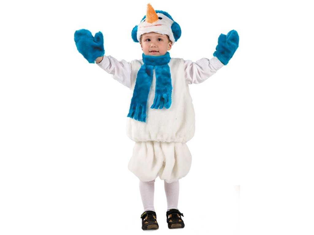 Как сшить новогодний костюм для ребенка?