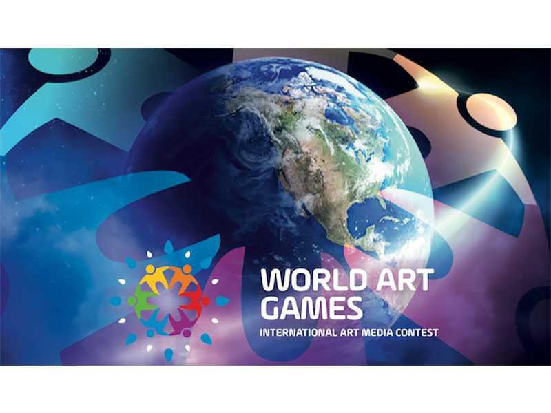 Участники конкурса «WORLD ART GAMES»