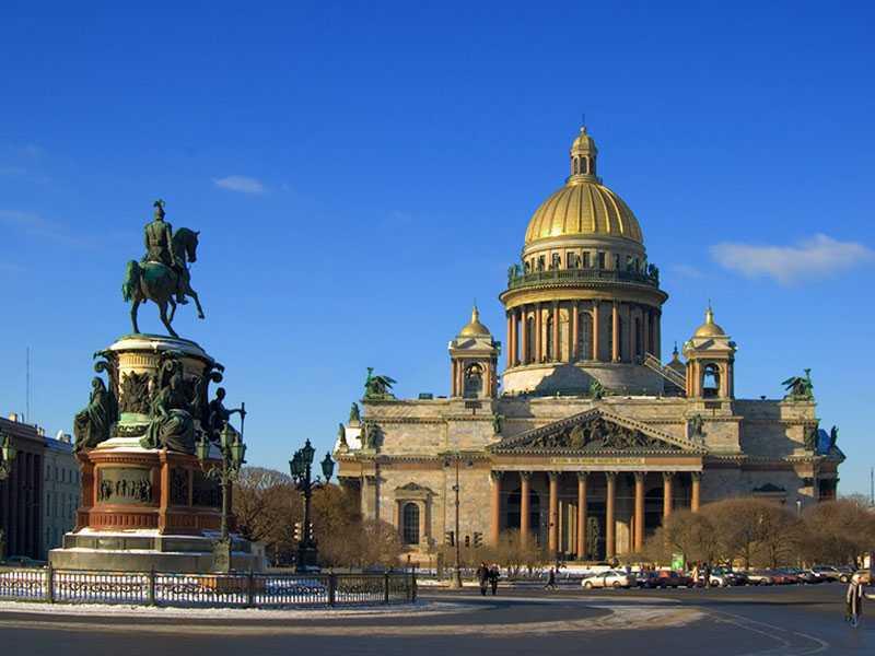 экскурсии в Петербург
