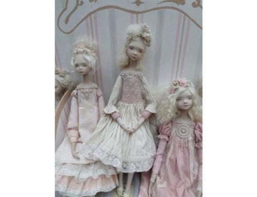 Мастер-класс художницы Ирины Горюновой (Россия) «Буарная кукла из самозастывающих пластиков»