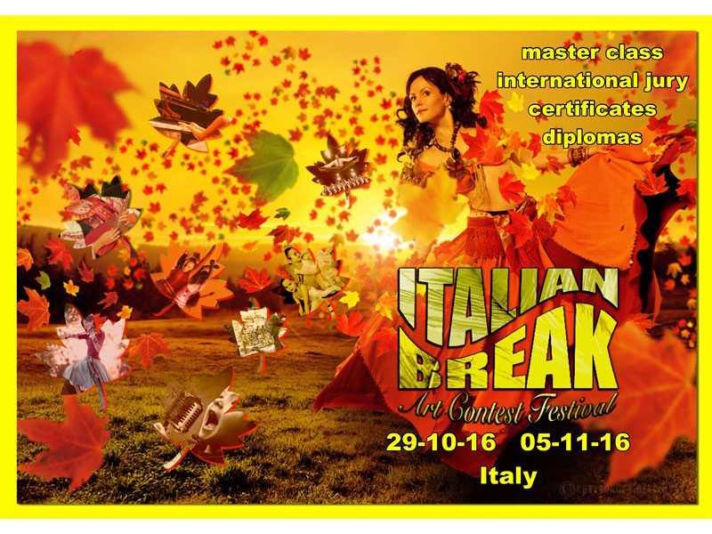 Международный многожанровый Фестиваль-Конкурс культуры и искусств Italian Break