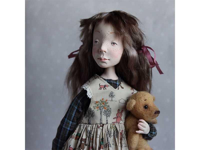 Вторая новость Салона Авторских Кукол 2016