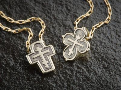 нательный крестик, православные ювелирные изделия