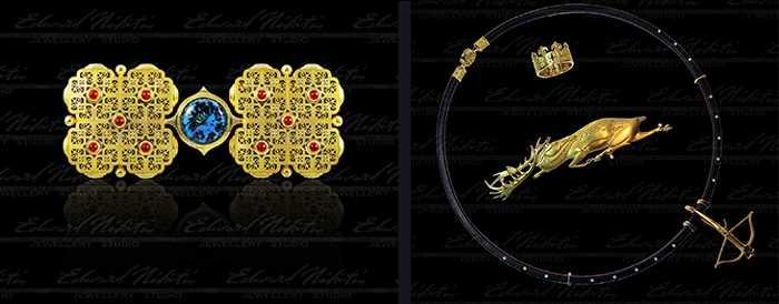 Известный корифей ювелирного искусства Никитин Эдуард