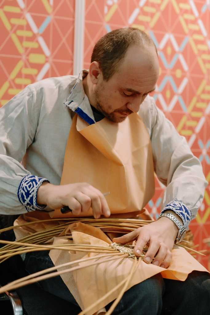 Ярмарка народных промыслов в Перми. Февраль