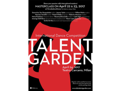 "International Dance Competition ""TALENT GARDEN3.0"""