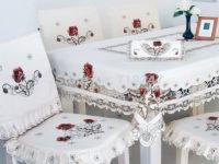 Скатерти из натуральных тканей ручной работы из Украины
