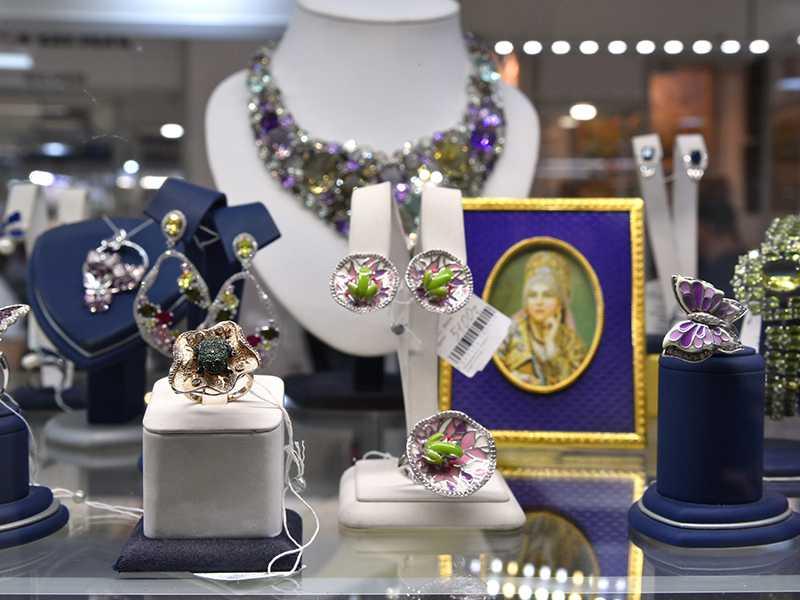 Выставка-продажа «Ювелирные ряды» состоится с 14 по 17 декабря 2017 года