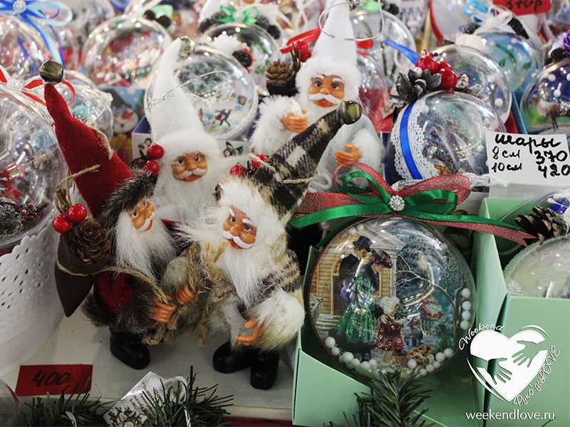 Новогодняя ярмарка подарков и сувениров в ТК