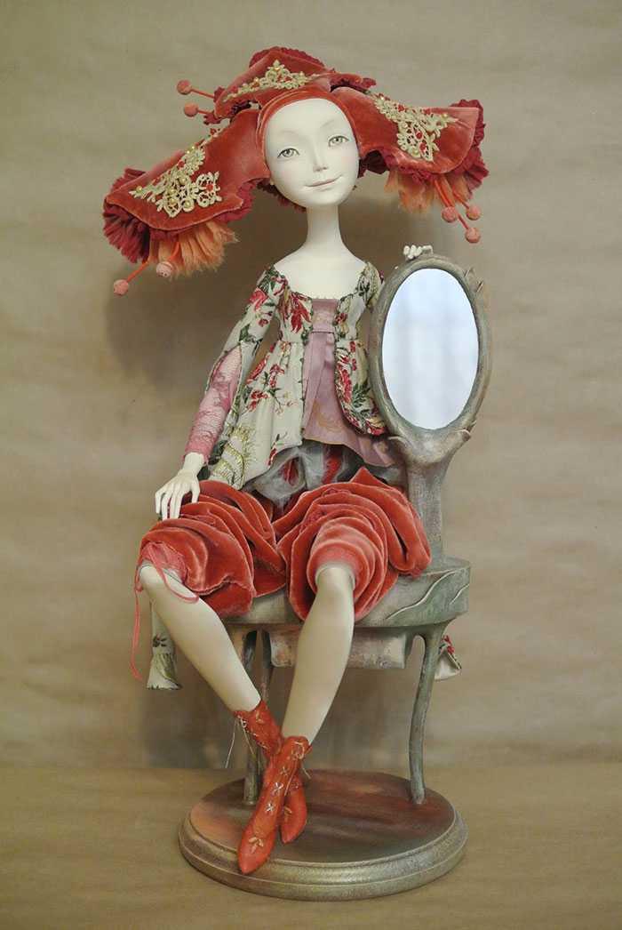 ручная работа, куклы, мишки Тедди, время кукол, кукольная выставка