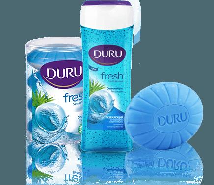 Обзор продукции DURU: как получить пользу от принятия душа?