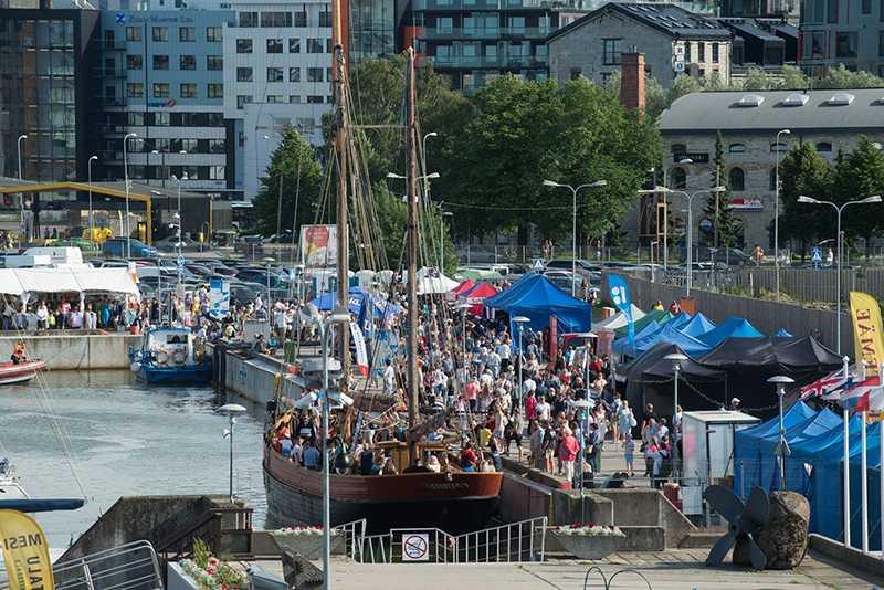 Ярмаркf на большом морском фестивале в Европейской столице Weekend Руко'деLOVE. 13-15 июля 2018г. Таллин