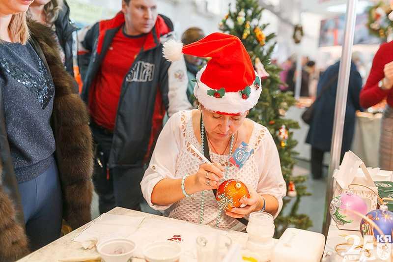 Рождественская ярмарка. 12-16 декабря 2018 года.