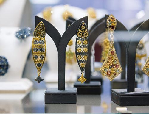 Ювелирная выставка «Сокровища Петербурга» во двореце Безбородко. 23-26 августа 2018 года