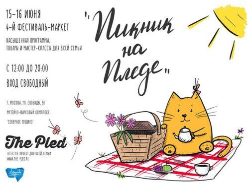 4-й Фестиваль-маркет «Пикник на Пледе» (15-16 июня)