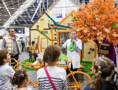 Осенний праздник рукоделия на выставке «Атмосфера Творчества»