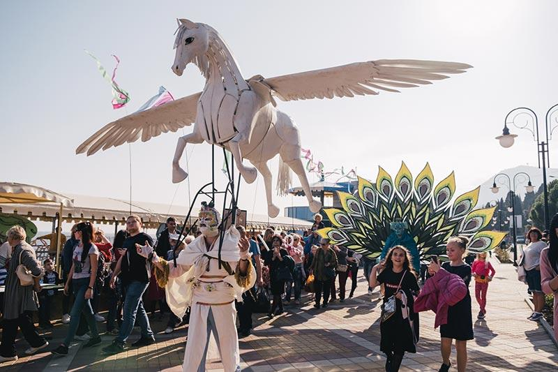 В Крыму прошел международный экологический фестиваль Алушта.Green