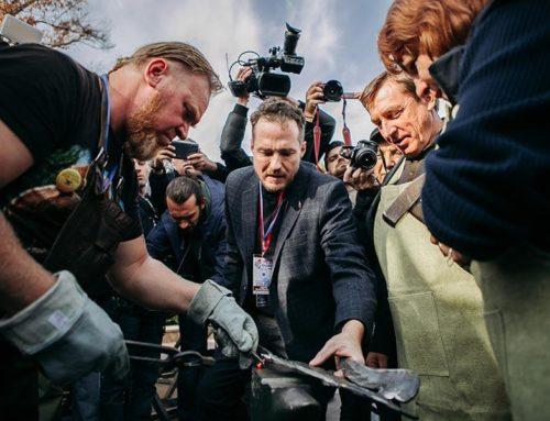 На выставке «Невский ларец» скуют эмблему выставки и проведут мастер-классы