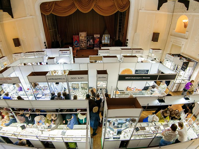 Ювелирная выставка «Сокровища Петербурга» во Дворце княгини Юсуповой с 30 января по 2 февраля
