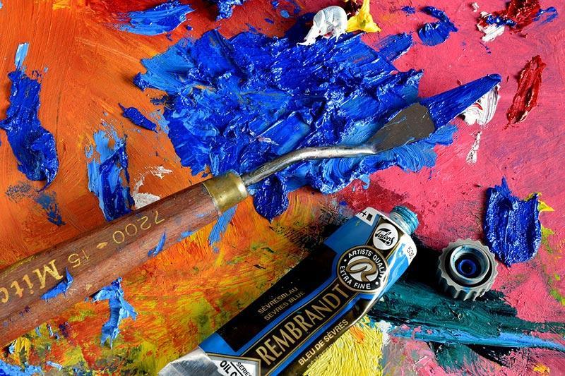 Чем разбавить масляные краски для рисования