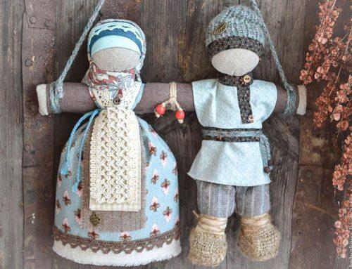 Онлайн мастер-класс «Изготовление куколки: оберег в дорогу»