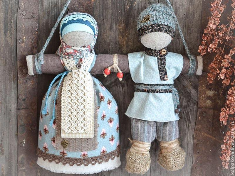 "Онлайн мастер-класс ""Изготовление куколки: оберег в дорогу"""