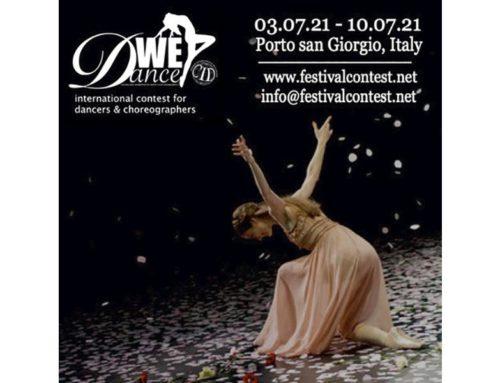Международный Конкурс для танцоров и хореографов WE DANCE
