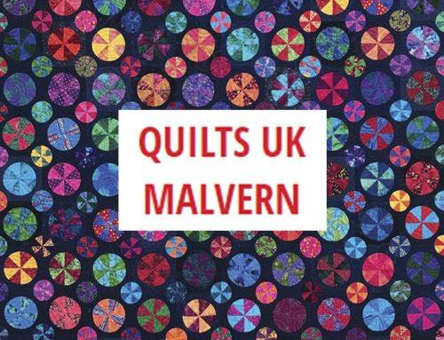 Quilts Uk Malvern 2021 — международная выставка рукоделия. Великобритания