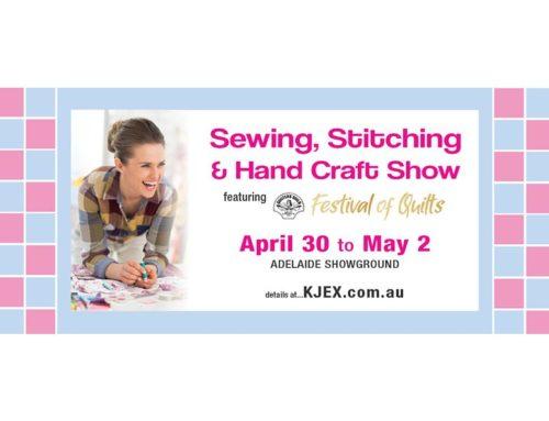 Sewing, Stitching and Handcraft Show 2021 — международная эксклюзивная выставка вышивки, пошива, текстильного искусства и рукоделия. Австралия